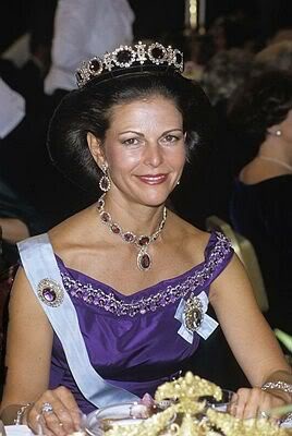 amethyst Swedish royal jewelry