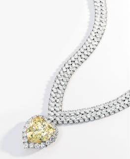 Van-Cleef-Arpels-Fancy-Yellow-Diamond-Necklace-Lauder-Sothebys