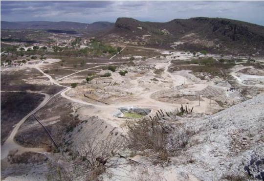 Paraiba tourmaline mine brazil