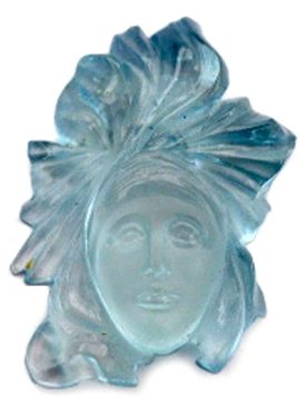 aquamarine greek talisman