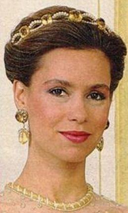 Maria Theresa Topaz Tiara