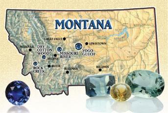 Montana Sapphire Missouri River