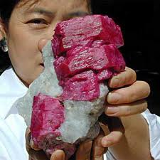 Myanmar ruby raw