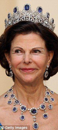 Sapphire Queen Silvia Sweden