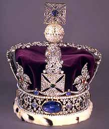 Stuart Sapphire Queen Victoria crown