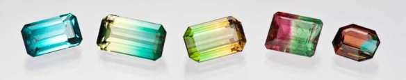 Tourmaline colors