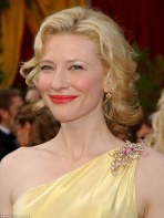 Cate Blanchett Diamond Brooch